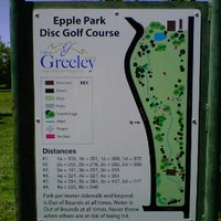 Photo taken at Epple Park Disc Golf Course by Christopher T. on 5/5/2012