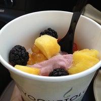 Photo taken at Yogurtology by Melinda C. on 2/27/2012