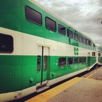 Photo taken at Burlington GO Station by Fabio F. on 5/31/2012