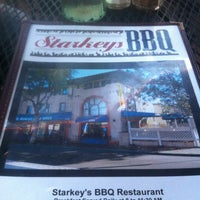 Photo taken at Starkey's BBQ by Tip N. on 7/14/2012