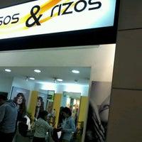 Photo taken at Peluqueria Lizos & Rizos by Alejandra C. on 8/5/2012