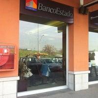 Photo taken at BancoEstado by Sebastian on 7/9/2012