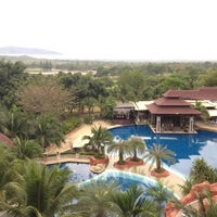 Photo taken at Springfiel Village Golf & Spa Hun-Hin by Apple K. on 3/10/2012