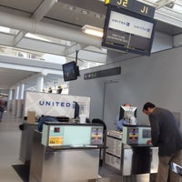 Photo taken at United Airlines Check-In Counter by Gary T. on 4/5/2012