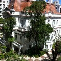 Photo taken at Palacete das Artes by Renato N. on 4/7/2012