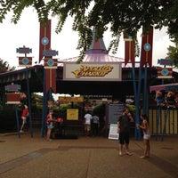 Photo taken at Apollo's Chariot - Busch Gardens by Luigi P. on 8/7/2012