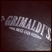 Photo taken at Grimaldi's Pizzeria by Rob A. on 7/18/2012