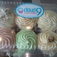 Photo taken at Cloud 9 Cupcakes by Charlie B. on 2/23/2012