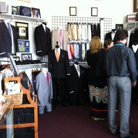 Photo taken at A Better Deal Tuxedos & Suits by Craig L. on 5/19/2012