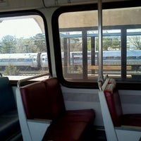 Photo taken at New Carrollton Metro Station by Tinu A. on 2/27/2012