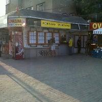 Photo taken at Mendlovo náměstí (tram, bus) by Jirka H. on 9/5/2012