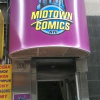 Photo taken at Midtown Comics by Andres C. on 4/25/2012
