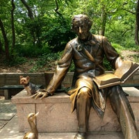 Photo taken at Hans Christian Andersen Statue by Princess Abigail B. on 7/22/2012