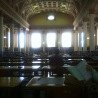 Photo taken at Barr Smith Reading Room by Mark A. on 4/18/2012