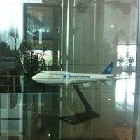 Photo taken at Garuda Indonesia Sales & Ticketing Office by chocolatna on 3/16/2012