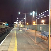 Photo taken at Greenwich DLR Station by Carlos P. on 2/22/2012