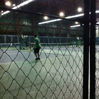 Photo taken at Celebrity Sports Club Tennis Court by Sharon Q. on 7/30/2012