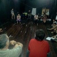 Photo taken at Teatro Escola Macunaíma by Filipe C. on 3/16/2012