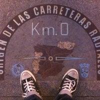 Photo taken at Kilometer 0 by Eduardo G. on 2/28/2012