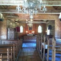 Photo taken at Ruhnu Püha Magdaleena kirik by Iiris on 8/4/2012