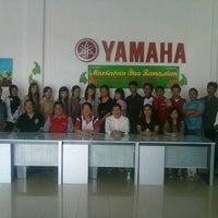 Photo taken at Yamaha Arista Pagaralam by Ernarosa A. on 2/2/2012