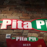 Photo taken at The Pita Pit by Kylie B. on 6/22/2012