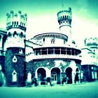 Photo taken at Bangalore Palace by Aditya D. on 3/9/2012