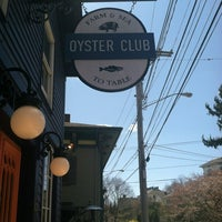 Photo taken at Oyster Club by Mary Ellen W. on 4/6/2012
