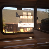 Photo taken at Lodi Amtrak (LOD) by Judy K. on 6/6/2012