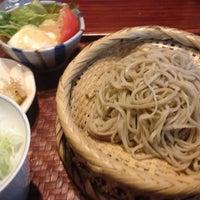 Photo taken at 手打蕎麦処 吉尾 by Akiko O. on 7/16/2012