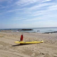 Photo taken at Buckroe Beach by Andy C. on 8/9/2012