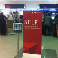 Photo taken at Delta Air Lines Ticket Counter by Catalina G. on 4/8/2012