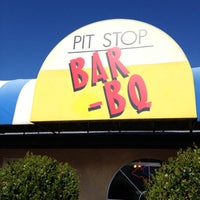 Photo taken at Pit Stop Bar-B-Que by Manuel L. on 2/27/2012