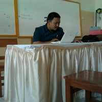 Photo taken at SMP Islam Sultan Agung 1 by Muhammad R. on 7/10/2012