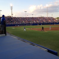 Photo taken at McKethan Stadium at Perry Field by Brad B. on 4/28/2012