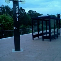 Photo taken at Shady Grove Metro Station by Katy C. on 8/6/2012