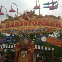Photo taken at The Barnstormer by Andrea G. on 4/19/2012