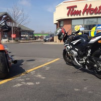 Photo taken at Tim Hortons by Stevie S. on 3/17/2012