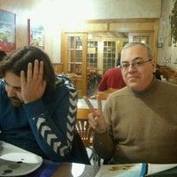 Photo taken at Pizzeria Las Delicias by Juan Antonio O. on 2/3/2012