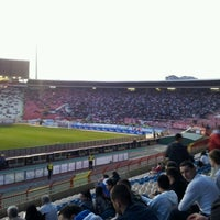 "Photo taken at Stadion ""Rajko Mitić"" by Marko J. on 3/21/2012"