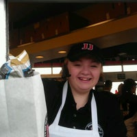 Photo taken at Jimmy John's by Dave C. on 3/15/2012