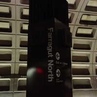 Photo taken at Farragut North Metro Station by Watanabe H. on 9/2/2012
