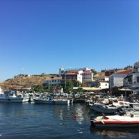 Photo taken at Bozcaada by Ilker A. on 8/25/2012