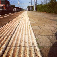 Photo taken at Station Utrecht Overvecht by Esther D. on 7/5/2012