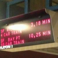 Photo taken at South San Francisco BART Station by Ryan E. on 6/22/2012