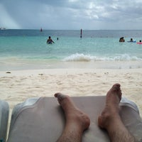 Photo taken at Playa Posada by Gabriel de V. on 8/27/2012