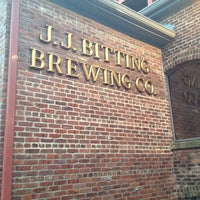 Photo taken at J.J. Bitting Brewing Company by Britt L. on 4/22/2012