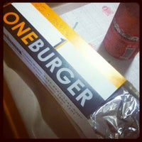 Photo taken at One Burger by Gui R. on 8/1/2012