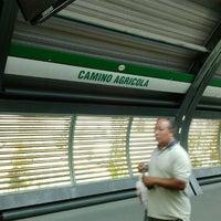 Photo taken at Metro Camino Agrícola by Inge S. on 2/6/2012