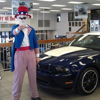 Photo taken at Red McCombs Ford by Jasmine W. on 8/14/2012